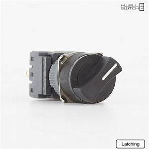 Push Button Switch Selector Switch 3 Position Momentary Or