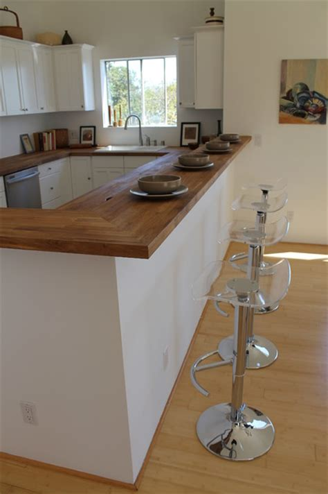acrylic bar stools with butcher block top kitchen