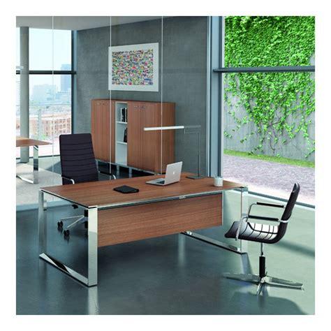 modele bureau design bureau droit 180cm 200cm en aluminium eight lemondedubureau