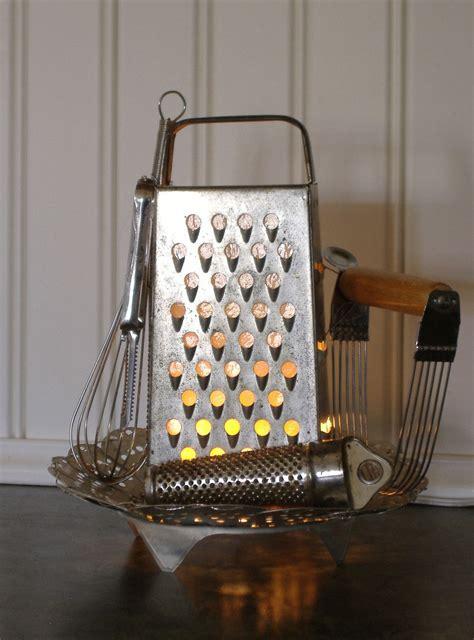 Kitchen Grater Lights by Kitchen Nightlight Cheese Grater L Repurposed Gadgets