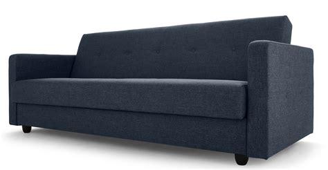 Chou Sofa Bed With Storage, Quartz Blue Made