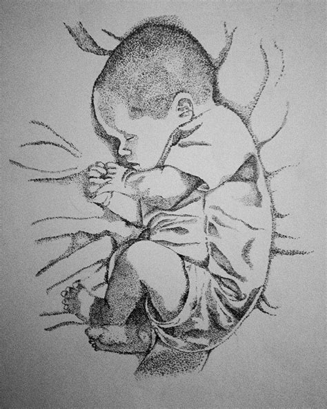 dots compositions of baby drawings