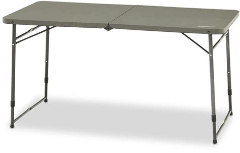 4 Foot Fold In Half Table Stainless Steel Glass Coffee Table Queen Anne And End Tables Top Lift From Pallets With Storage Stains Metal Base Pet Bed
