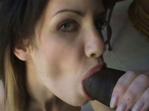 A Big Black Dick In Her Mouth Is What She Loves