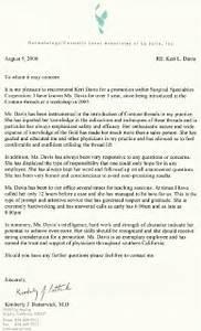 Plastic Surgeon Letters Of Recommendation