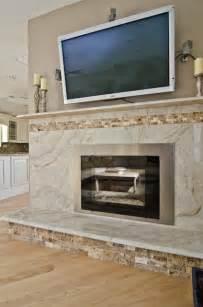 Backsplash Tile Designs For Kitchens Taj Mahal Quartzite Fireplace Surround Contemporary Living Room Dc Metro By Granite