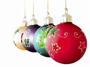 3 Xmas Decorations Merry Christmas