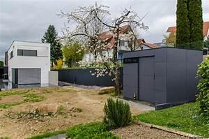 Gartenhaus Mit Flachdach : gartenhaus flachdach modern und zeitlos ~ Frokenaadalensverden.com Haus und Dekorationen
