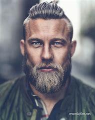 Viking Hairstyle Men with Beards