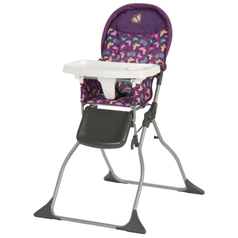 cosco high chair seat pad cosco simple fold high chair butterfly twirl shop your