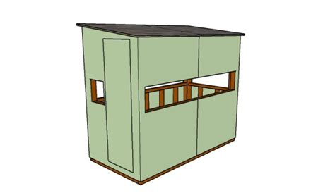 deer blind plans 5 free deer stand plans free garden plans how to build