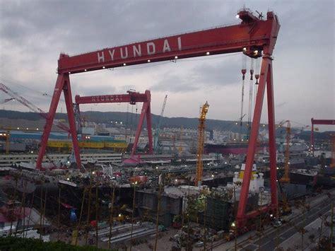 shipyard hyundai heavy industries gunsan shipyard