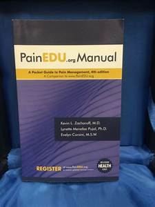 Painedu Org Manual  A Pocket Guide To Pain Management  4th