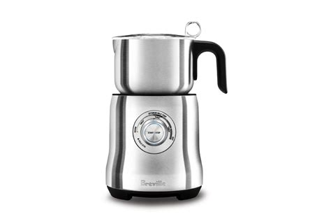 breville milk cafe electric milk frother cutlery