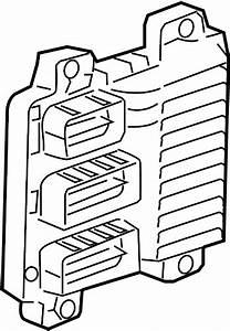 Buick Rainier Engine Control Module  Liter