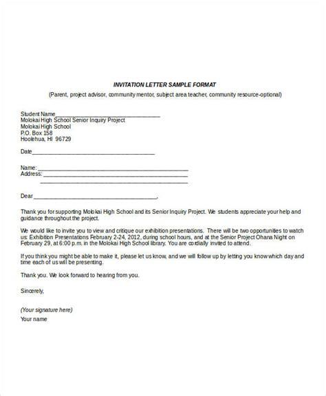invitation letter sample hossroshanaco