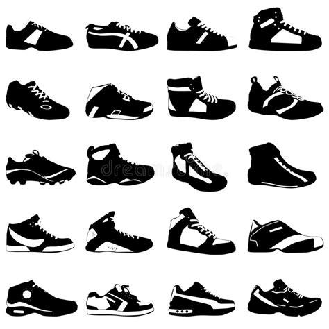 fashion sport shoes vector stock vector illustration