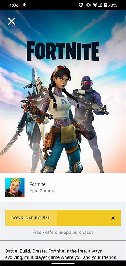Fortnite Android Play Games App Google Without