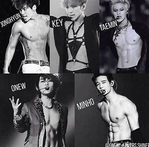 SHINEE ABS COLLECTION ! ️ Onew one i wish ! Hot as hell my ...