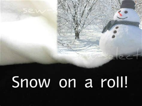 snow on a roll 60mt by 70cm polyester imitation fake snow