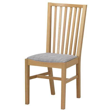 norrn 196 s chair oak isunda grey ikea