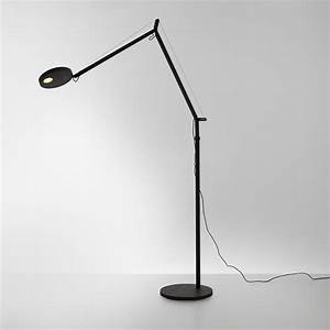 artemide demetra lettura led floor lamp with dimmer With 200 cm floor lamp