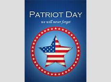 Never Forget Patriot Day Card Birthday & Greeting