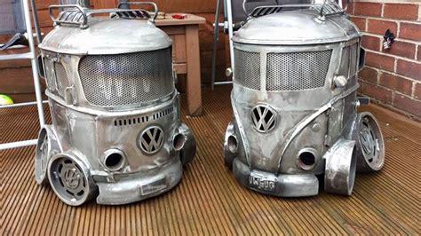 volkswagen vw bus wood burning stoves  creation