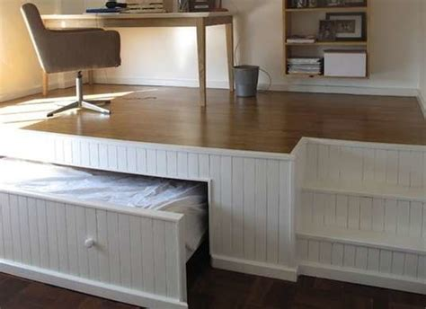 hideaway bed   build  bed  diy designs bob vila