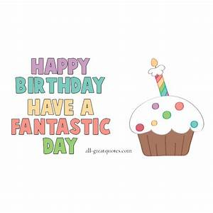Happy Birthday | Animated Free Card For Facebook Cake Candles