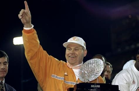 Ranking the SEC's BCS Championship winners: 1998 Tennessee ...