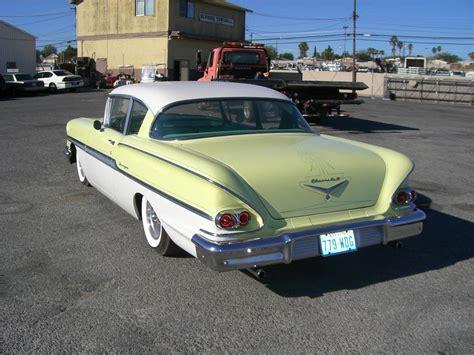 size of exterior door 1958 chevrolet biscayne 2 door sedan 79900