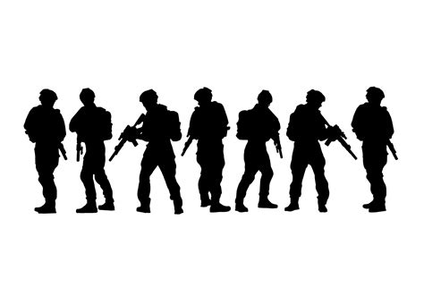 The svg specifications are open standard developed by the world wide web consortium (w3c). Army Siluetas Vector - Download Free Vectors, Clipart ...