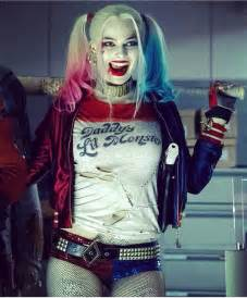 Margot Robbie as Harley Quinn Suicide Squad