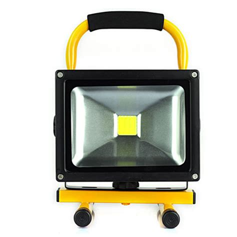 portable led lights led rechargeable floodlight 20w cordless rechargeable led