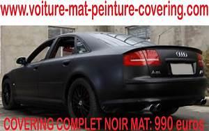 Peinture Noir Mat : covering voiture paris covering voiture toulouse ~ Carolinahurricanesstore.com Idées de Décoration