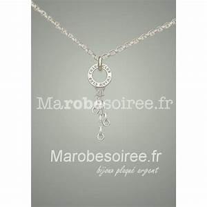 elegante chaine collier plaque argent compatible avec With robe de cocktail combiné avec bracelet compatible withings