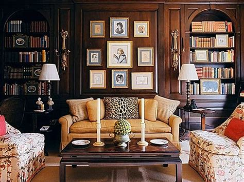 traditional home   eclectic   room traditional classic style decor book shelves study eclectic