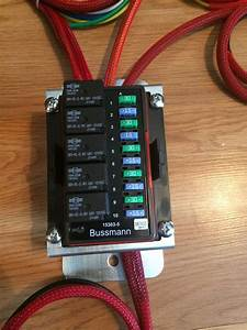 Bussmann Relay  Fuse Auxiliary Box - Wired
