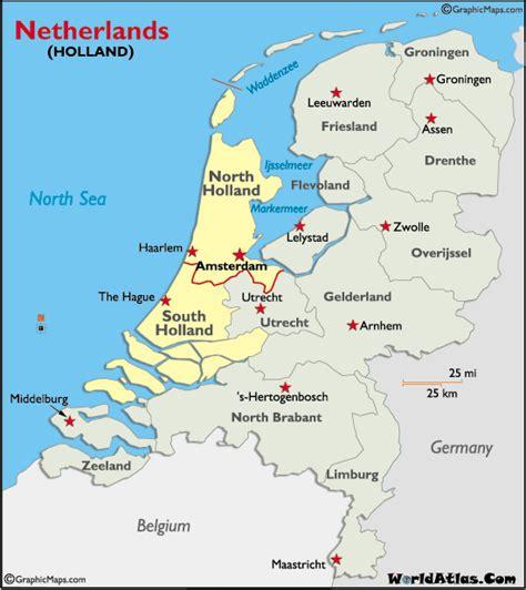 Nordsee Holland Karte
