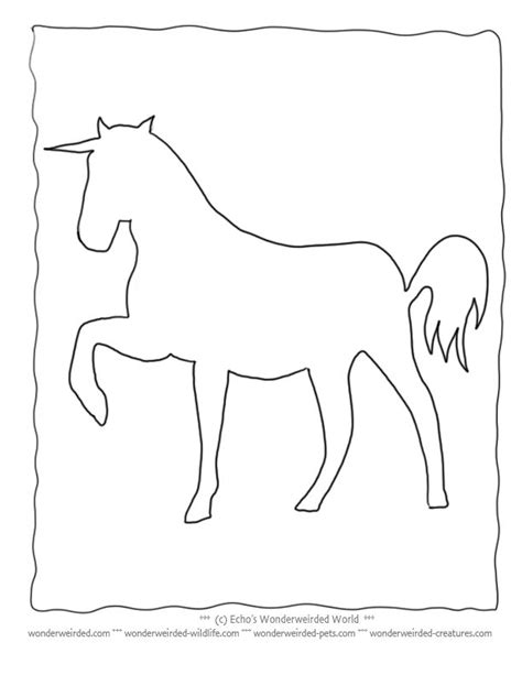 The 25+ best Unicorn outline ideas on Pinterest   Unicorn