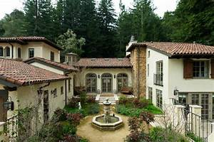 An Italian Villa, Carmel, California Mediterranean