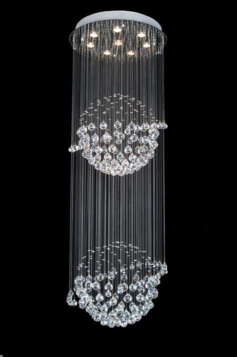 A938098 Gallery Modern  Contemporary Crystal Light Fixture