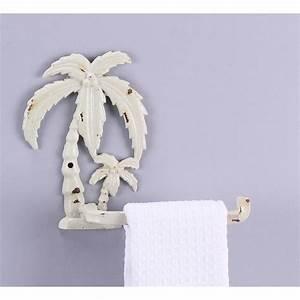 Palm Tree Toilet Tissue Holder