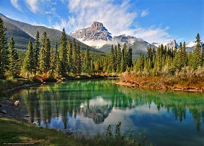 Nature Canada Mountains Wallpapers Changing Forest Desktop