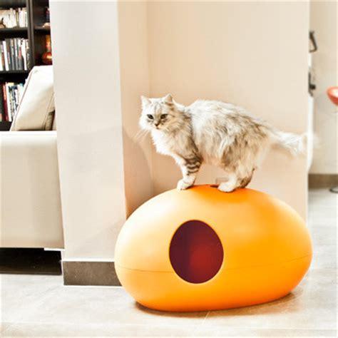 maison de toilette roll n clean la maison de toilette pour chats quot poopoopeedo quot