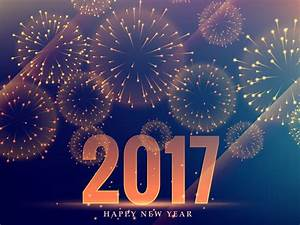 Happy New Year 2017 Backgrounds Presnetation - PPT ...