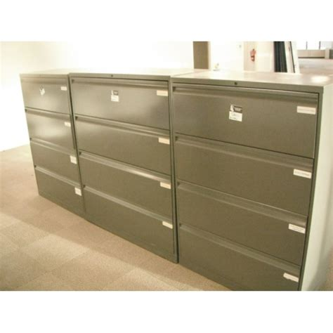 30 wide file cabinet 4 drawer lateral file cabinet knoll grey 30 quot wide