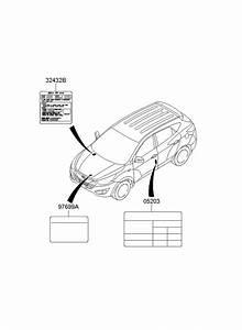 Hyundai Tucson Label