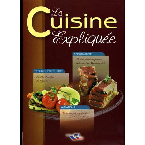 livre technique cuisine livres de cuisine professionnelle cap cuisine et bts